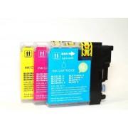 Compedo Printer cartridge Brother LC-980/1100C, multipack