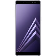 Telefon mobil Samsung Galaxy A8 DS Grey, model 2018, memorie 32 GB, ram 4 GB, 5.6 inch, Android 7.1.1 Nougat
