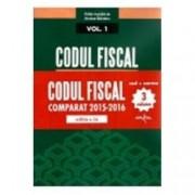 Codul Fiscal Comparat 2015-2016 cod+norme Ed. a 2-a