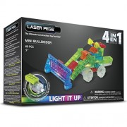 Laser Pegs Mini Bulldozer Building Kit