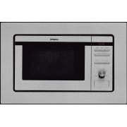 Cuptor cu microunde incorporabil Hansa Integra AMM20BEIH, 20 l, 8 programe, 800 W, Grill, Inox