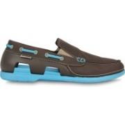 Crocs Boat Shoes For Men(Black, Blue)