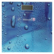 Cantar corporal Hausberg HB-6003, 150 kg, LCD, Albastru
