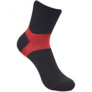Balenzia Women High Ankle Gym Socks with Mesh Knit and Arch Support-1 Pair Pack