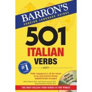 501 Italian Verbs [With CDROM], Paperback