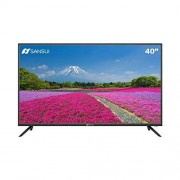 """SANSUI SMX40P28NF Smart TV LED 40"""", Sistema Operativo Android 6, 3 x HDMI, LAN (RJ-45), RF, 3 x USB 2.0 y VGA"""