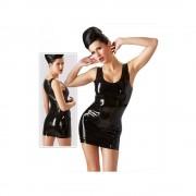 210th Latex mini dress sort-M