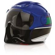 Acerbis X-Jet On Bike Jet casco azul/verde Azul XS (53/54)