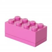 Lego Mini Ladrillo de almacenamiento LEGO (8 espigas) - Violeta