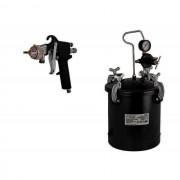 Pistol ptr. vopsit cu rezervor 10L RD-PT02