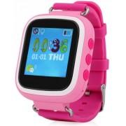 "Smartwatch iUni Kid90 52118, 1.44"", GPS, Bratara silicon, dedicat pentru copii (Roz)"