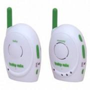 Sistem de monitorizare pentru bebelusi Baby Mix D1011 verde