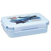 The Amazing Fighter Aircraft- Lunch Box For School Kids (Blue)