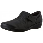 Clarks Women's Everlay Coda Flat Black 6.5 B(M) US