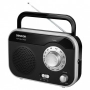 Portable analogni radio Sencor SRD 210 BS