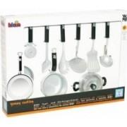 Bucatarie copii Klein Pot and Kitchen Equipment Set 9 Pieces WMF