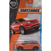 California Mbx Adventure City Range Rover Evoque Matchbox Toy Car Models 2016, 27/125 (White)