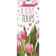 I love tulips - tulpen verjaardagskalender - birthday calendar