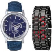 Jack Klein Round And Rectangular Dial Elegant Analog And Digital Wrist Watches