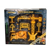Construct A Truck-City Builder Set-Mixer.Create a city construction site