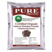SkyMorn Pure Organic Herbal Natural Premium Quality Shikakai Powder ( acacia concinna ) 227 gm