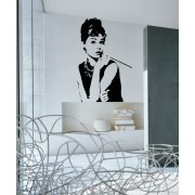 Audrey Hepburn - Sticker Decorativ