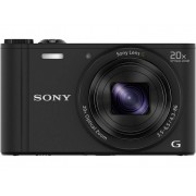 Sony Cyber-Shot DSC-WX350B Digitale camera 18.2 Mpix Zwart Full-HD video-opname, WiFi