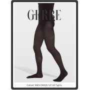 Gerbe Drainup - 40 denier semi-opaque support tights for men