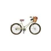 Bicicleta Aro 26 Femenina Bella Retro Bege Master Bike