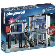 Playmobil Police Station with Alarm System (int), Multi Color