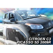 Paravanturi Geam Auto CITROEN C3 PICASSO ( Marca Heko - set FATA + SPATE )