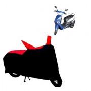 AutoAge Two Wheeler Red+Black Cover for Yo Bike Yo Xplor