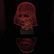 Star Wars Darth Vader 3D Bordslampa