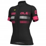 Alé Women's Graphic PRR Strada Jersey - XL - Black/Fluo Pink