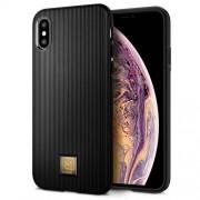 Carcasa fashion Spigen LA MANON Classy iPhone XS Max Black