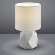 Reality Tafellamp Pike - Beton - Wit - Wit