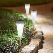 4 db napelemes LED Noa lámpa világítás 28 cm