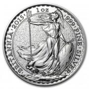 Britannia Stříbrná mince 1 Oz 2015