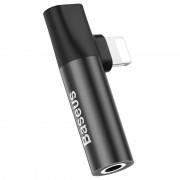 Baseus L43 Lightning Audio Adapter - iPhone XS Max/XS/XR - Black