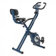 Azura Pro X-Bike bicicletas de exercício com medidor de frequência cardíaca 100 kg dobrável 3 kg azul