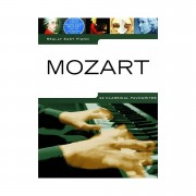 Music Sales Really Easy Piano - Mozart - 22 Classical Favourites
