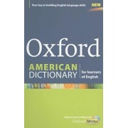 Oxford American Dictionary for Learners of English 'With CDROM', Paperback/Oxford University Press