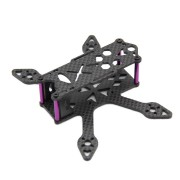 GP100 100mm Micro FPV Racing Frame Kit Carbon Fiber Supports Runcam Micro Swift 2 Camera