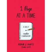 1 Page at a Time (Red): A Daily Creative Companion, Paperback