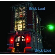 Brick Loot Ghostbusters Firehouse Headquarters Lighting Kit for LEGO 75827 (LEGO set NOT Included)