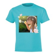 YourSurprise T-shirt - Kids - Lichtblauw - 12 jaar