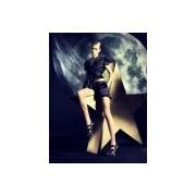 Ekskluzywne rajstopy z modnym wzorem w czarne kropki Sophia firmy Omero