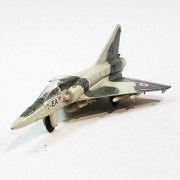 Showcasts Collectibles Dassault Mirage 2000 French Multirole Fighter Jet Aircraft 1/100 Scale Diecast Plane
