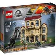 Lego Jurassic World Indoraptor-Verwüstung des Lockwood Anwesens