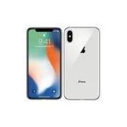 iPhone X 64GB Prateado Tela 5.8' iOS 11 4G Câm 12MP - Proc A11 Bionic - Apple